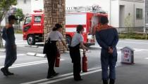 各店舗にて消防訓練を実施